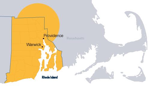 RI & Southeastern MA HVAC company service area